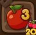 LINEポコポコ リンゴ